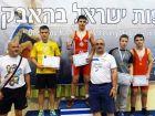 кадеты, вольная борьба чемпионат Израиля 2014г