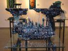 изобразительное искусство музей стекла в Араде, Израиль